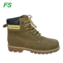 crazy horse leather safety boots