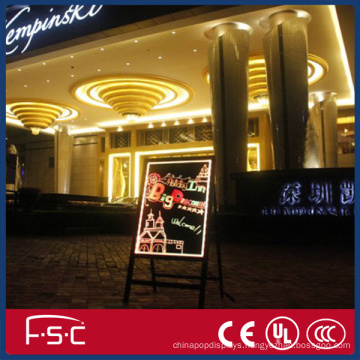 LED Advertising Fluorescent Writing Board