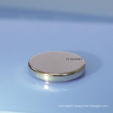 Custom Cylinder NdFeB Neodymium Magnet 40h