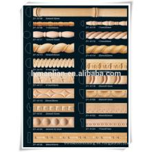 artículos de cocina tallado en madera