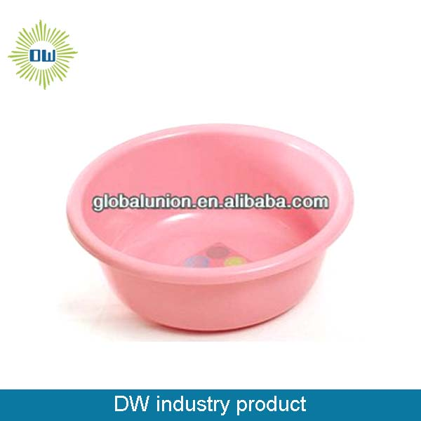 cheap plastic wash basin pink1