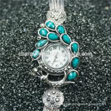 Elegante moda senhoras bela relógio de pulso de quartzo B001