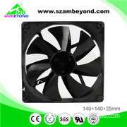 140X140X25 Electric Motor Fan 14025 DC Exhaust Fan 12V Fan