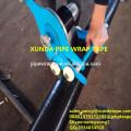 Band, das Einwickelmaschine für die Stahlrohrleitung anwendet