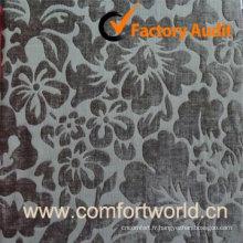Tissu Jacquard Fashion, utilisé pour les rideaux, Sofa