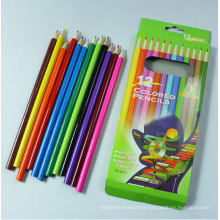 Wooden Color Pencil for School Stationery Supply