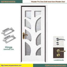 Puerta de plástico puerta puerta de baño