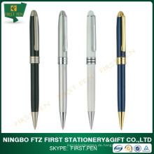 Heiße Verkaufs-kundenspezifische preiswerte exklusive Metallkugel-Kugelschreiber mit Laser-Firmenzeichen