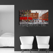 Home Decorative Canvas Oil Painting with Scenery