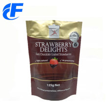 Heat seal aluminum foil zipper packaging bag
