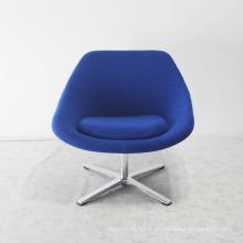 Salon Furniture Classical Soft Sofa Chair with Metal Legs