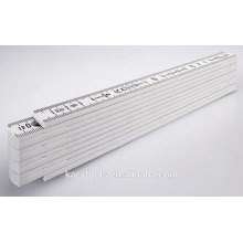 High Quality Plastic Folding Ruler/ Plastic Yardsticks