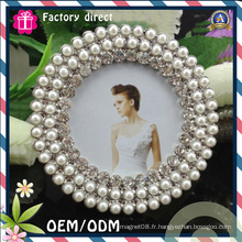 Oval Pearl Design Cadre de 6X10 pouces