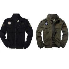Homens EUA Army Air Force Elegante Casaco Militar Revestimento Bombardeiro
