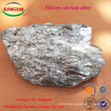 Alloy Products / Si Ca Alloy Lump /calcium Silicon Alloy With Different Specification