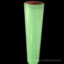 Etiqueta engomada fotoluminiscente del vinilo de la transferencia de calor