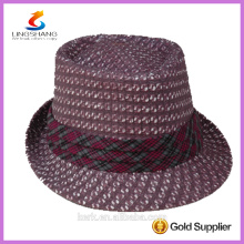 DSC 0001 LINGSHANG custom wholesale cheap paper straw hat