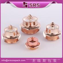 SRS acrylique ongle cosmétiques vide vide en plastique