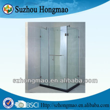 Rectangle tray nano coating glass shower enclosures,shower screen