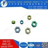 OEM TC4 TA1 TA2 Hexagon titanium color nuts