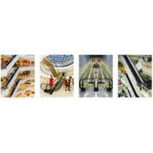Shopping VVVF Mall Escalator With Energy Saver