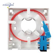 Caixa terminal interna da fibra óptica da placa dianteira da fibra PG-FTTH-02