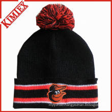 Promotion Cuffed Knitted Hat with POM POM