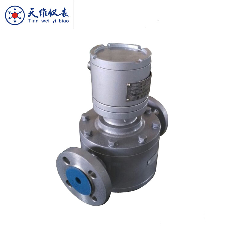 LC13-KFB20 S.S oval gear flow meter for filling machine