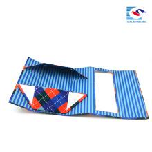 boîte d'emballage pliable pliable de carton plat pour le cadeau