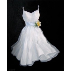 little beautiful weeding dress