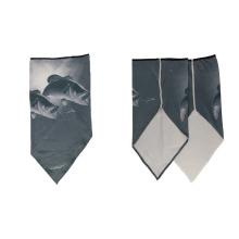 Factory wholesale manufacturing multifunctional custom logo cheap triangular outdoor bandana