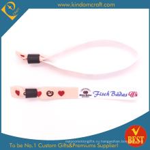 2014fashion пользовательских тканые браслеты для Promoyional подарок