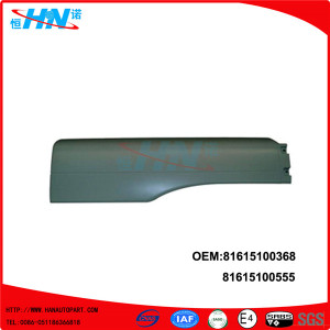 Truck Extension Mudguard 81612100742 81615100555 Auto Parts