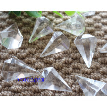 White Quartz Pencil Shape Beads