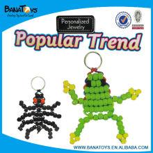 Interesting keychain girls diy beads set