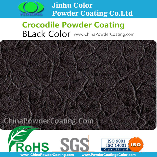Hybrid Black Crocodile Pulverlackering Paint