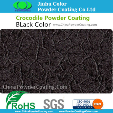 Hybrid Black Crocodile Powder Coating Paint