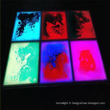 Tuile de panneau de maison de plancher de danse liquide LED