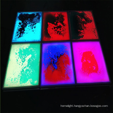 Popular Interactive Effect Party Show Cafe Wedding LED Liquid Dance Floor Home Panel Tile