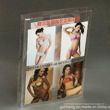 Paquete de impresión de plástico OEM para lencería sexy (caja de PET)