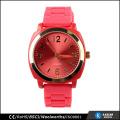 Bracelet en silicone acier inoxydable retour japan movement quartz watch sr626sw pour femme
