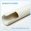 Mangueira flexível de PVC branco para casa de banho