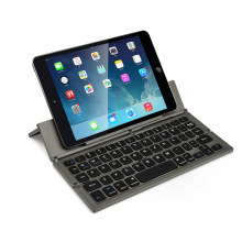 Portable Aluminum Folding Keyboard Foldable Compatible most of tablet PC and smart phone