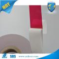 Fibra adesiva dupla face adesiva de proteção contra adulteração CASA VOID OPEN para vedação do saco de segurança