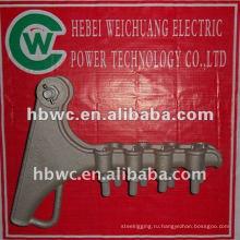 СДЛ-4 кабельные зажимы из алюминиевого сплава пружинное
