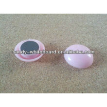 plastic magnetic button,plastic coated magnet,round magnetic button,whiteboard accessories,20mm XD-PJ201-2