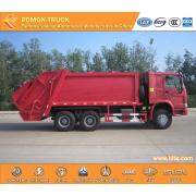 SINOTRUK RHD 6X4 EURO 4 380HP Refuse Compactor Truck 20CBM