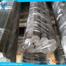Barre hexagonale en acier inoxydable 1,4000