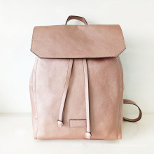 Bolso de cuero de la manera del diseñador PU de señora PU Backpack (NMDK-040506)