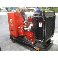 45 - 500kw Gas Backup Generator Water Cooled Lpg Power Generator With Deep Sea Control Panel